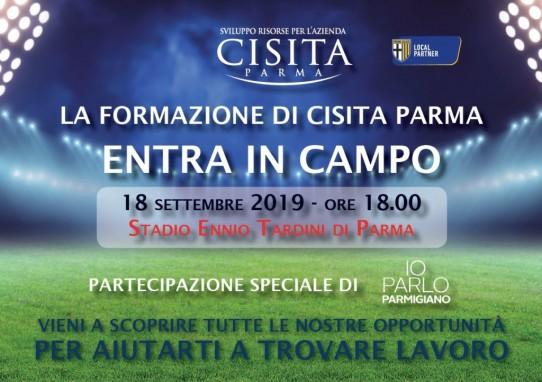 Entra in campo con Cisita Parma