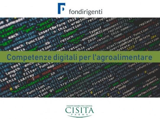 Entra nel vivo la ricerca di Fondirigenti e Cisita Parma dedicata alle nuove competenze digitali per manager del settore agroalimentare