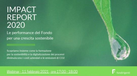 "Fondirigenti, ""Impact Report 2020″"
