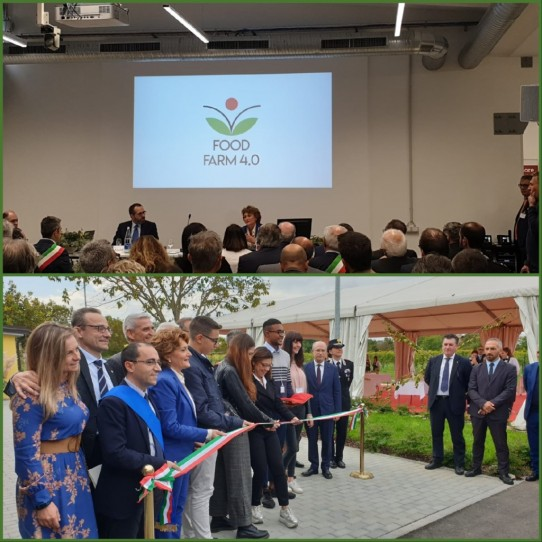 Inaugurato Food Farm 4.0