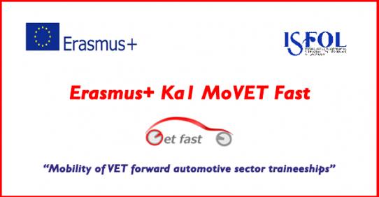 Progetto Erasmus+ Ka1 MoVET Fast