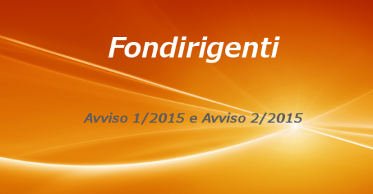 Fondirigenti – Nuovi avvisi