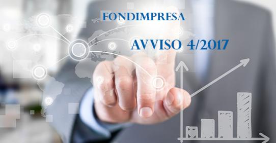 Fondimpresa: Avviso 4/2017 – Competitività