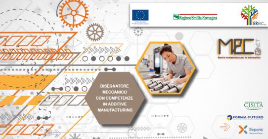 Disegnatore meccanico con competenze in Additive Manufacturing