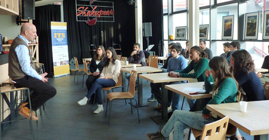 Energizer Breakfast ITS T&F Parma: incontro imprenditori e studenti