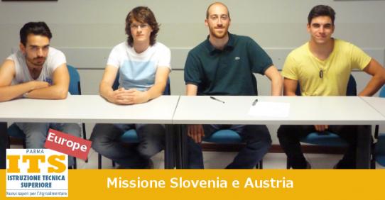 ITS Europe: missione Slovenia e Austria
