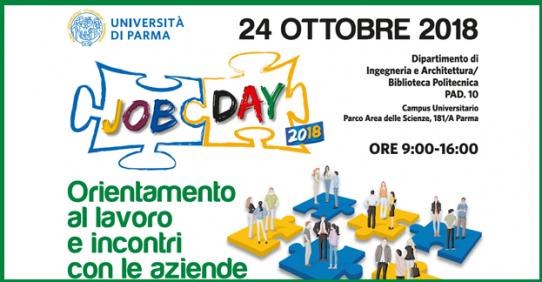 Cisita Parma partecipa al Job Day UNIPR 2018