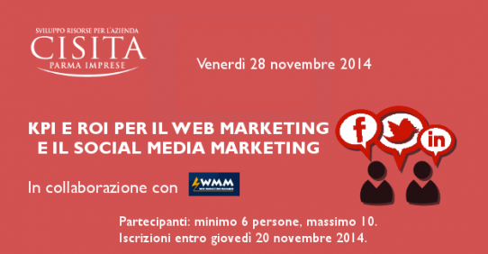 KPI e ROI nel web marketing e nel social media marketing
