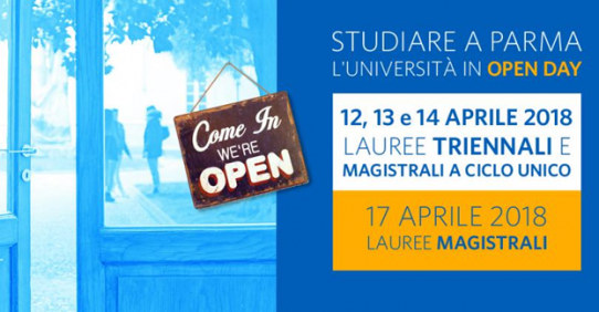 Open Day UNIPR 2018