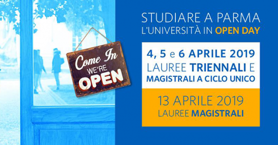 Open Day UNIPR 2019